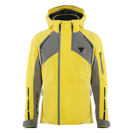HP ICEDUST VIBRANT-YELLOW/CHARCOAL-GRAY- Jackets