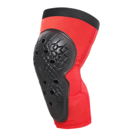SCARABEO KNEE GUARDS BLACK/RED- Genoux