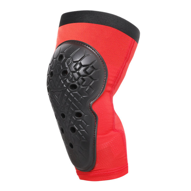 SCARABEO KNEE GUARDS BLACK/RED- Knieschutz