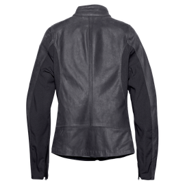 DJANET LADY LEATHER JACKET EBONY- Leather