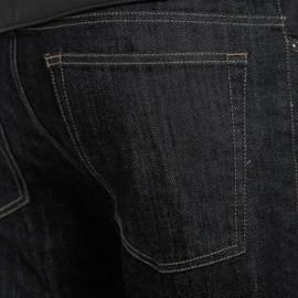 DENIM REGULAR TEX PANTS BLACK- undefined