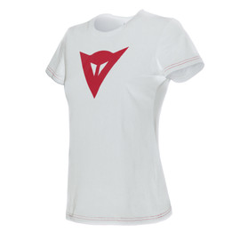 SPEED DEMON LADY T-SHIRT WHITE/RED