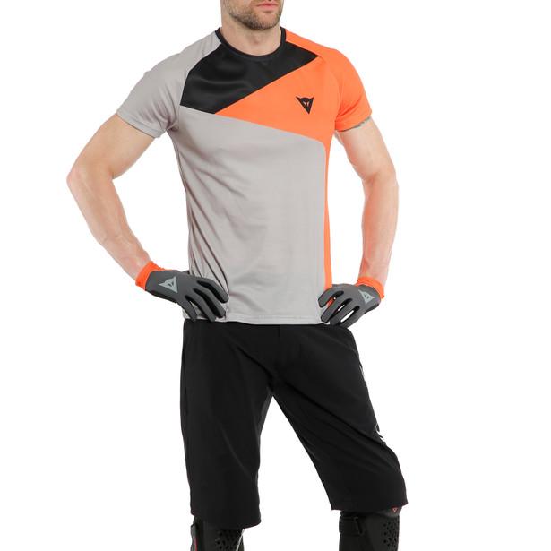 HG TEE 3 LIGHT-GRAY/ORANGE- Shirts