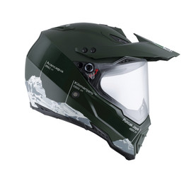AX-8 DUAL EVO E2205 MULTI - WILD FRONTIER MILITARY GREEN/WHITE - Integrale