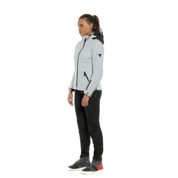 MAYFAIR LADY D-DRY JACKET BLACK/GLACIER-GRAY/GLACIER/GRAY- Riding in the rain