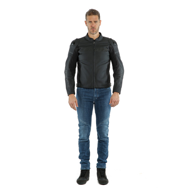 AGILE LEATHER JACKET - Leather