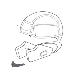 AGV WIND PROTECTOR K-3 - Accessories
