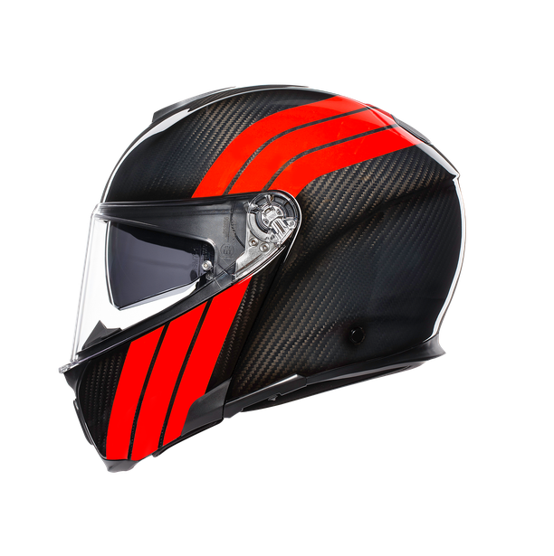 SPORTMODULAR MULTI E2205 - STRIPES CARBON/RED - Sportmodular