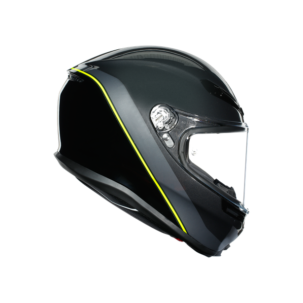 K6 E2205 MULTI - MINIMAL GUNMETAL/BLACK/YELLOW FLUO - K6