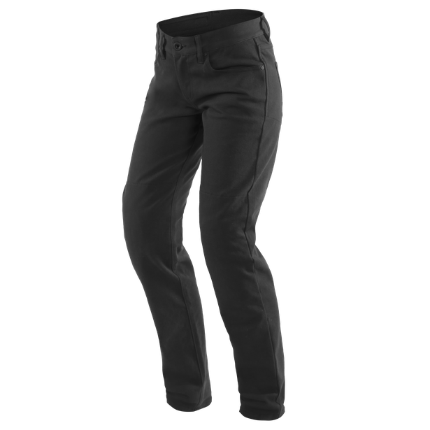 CASUAL SLIM LADY TEX PANTS BLACK- Women