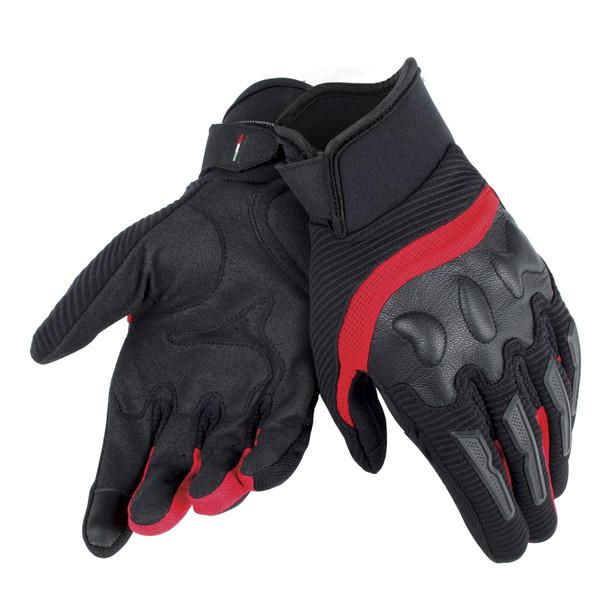 AIR FRAME UNISEX GLOVES BLACK/RED- Textil