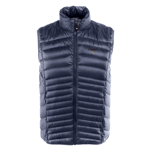 PACKABLE DOWNVEST MAN BLACK-IRIS- Piumini