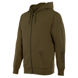 FELPA ADVENTURE FULL-ZIP  MILITARY-OLIVE/BLACK