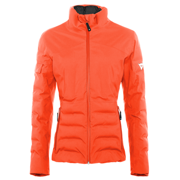 SKI PADDING JACKET WOMAN CHERRY-TOMATO- Downjackets