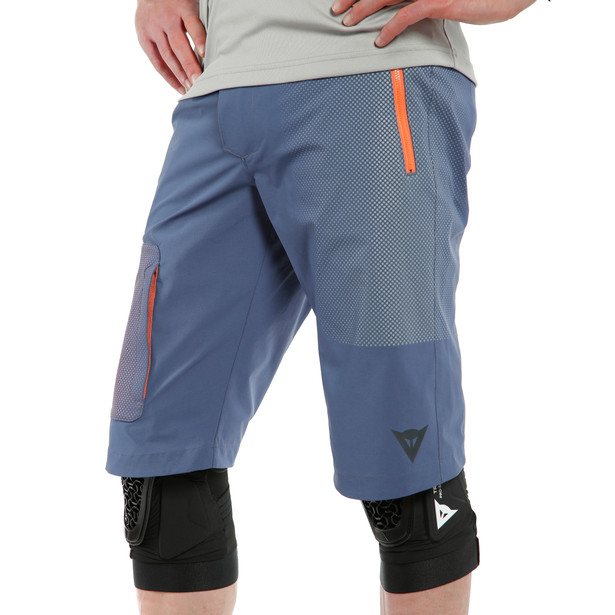 HG GRYFINO SHORTS BLUE/ORANGE- New arrivals