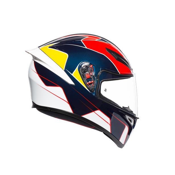 K1 MULTI ECE2205 - PITLANE BLUE/RED/YELLOW - K1