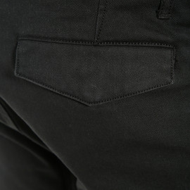 CHINOS TEX PANTS BLACK- Hosen