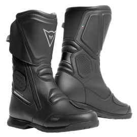 X-TOURER D-WP BOOTS BLACK/ANTHRACITE- Wasserfest