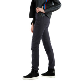 CASUAL SLIM LADY TEX PANTS BLUE- Women