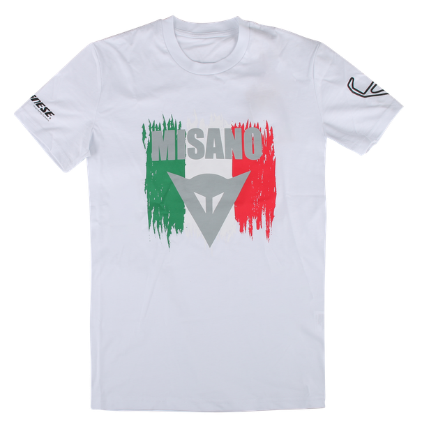 MISANO D1 T-SHIRT WHITE- undefined