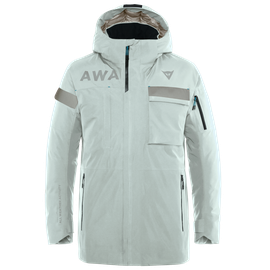 AWA BLACK PARKA PURITAN-GRAY/STRETCH-LIMO- Jackets