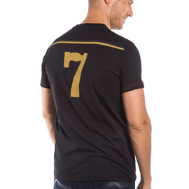 FAST-7 T-SHIRT BLACK/GOLD- Casual