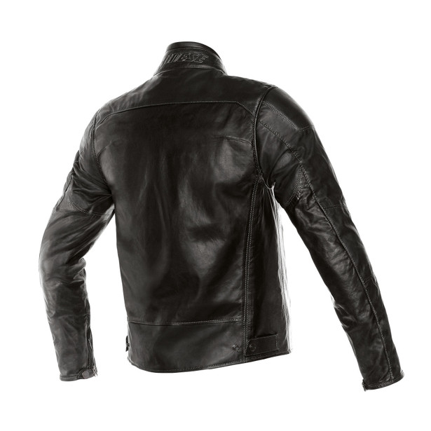 MIKE PELLE BLACK- Leather