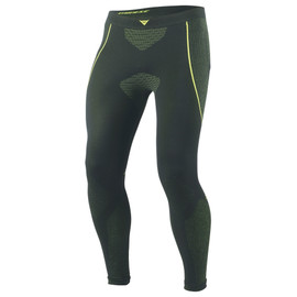 D-CORE DRY PANT LL BLACK/FLUO-YELLOW- Pants