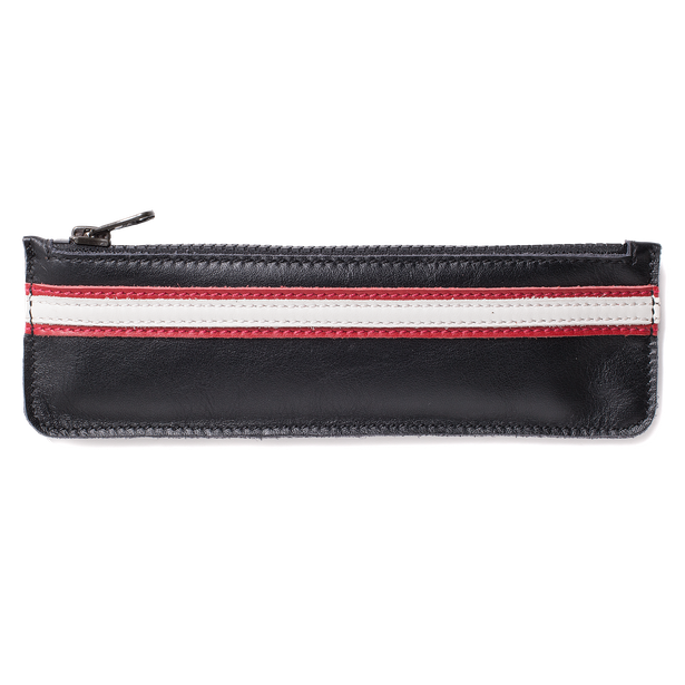 SETTANTADUE PEN CASE BLACK/RED- Accesorios