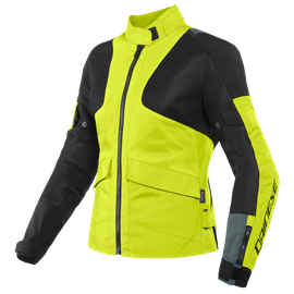 AIR TOURER LADY TEX JACKET FLUO-YELLOW/EBONY/BLACK