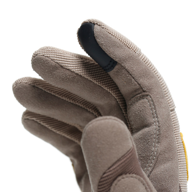 DJADO UNISEX GLOVES FEATHER-GRAY/MOREL/OLD-GOLD- Womens
