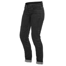 DENIM SLIM LADY TEX PANTS BLACK