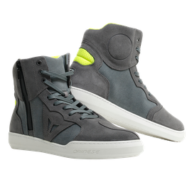 METROPOLIS SHOES ANTHRACITE/FLUO-YELLOW- Textil