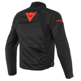 AIR FRAME D1 TEX JACKET BLACK/BLACK/RED-FLUO- Textil