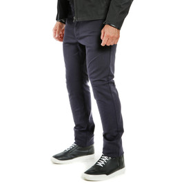 CASUAL SLIM TEX PANTS BLUE- Hosen