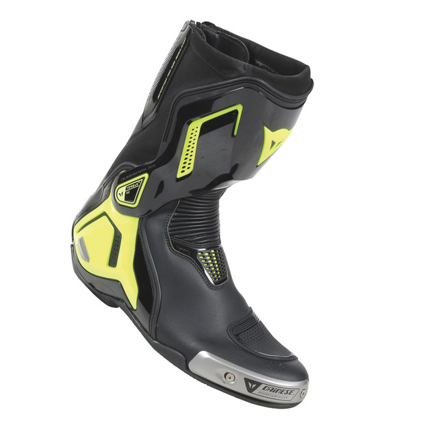 TORQUE D1 OUT BOOTS BLACK/FLUO-YELLOW- Leder