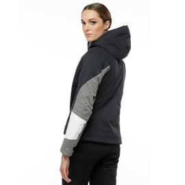 HP CRUST WMN BLACK-TAPS/CHARCOAL-GRAY/STAR-WHITE- Women Winter Jackets