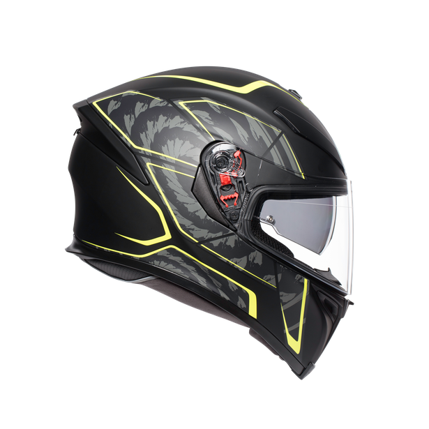 K5 S E2205 MULTI - TORNADO MATT BLACK/YELLOW FLUO - K5 S