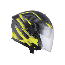 K-5 JET E2205 MULTI - URBAN HUNTER MATT BLACK/YELLOW - undefined