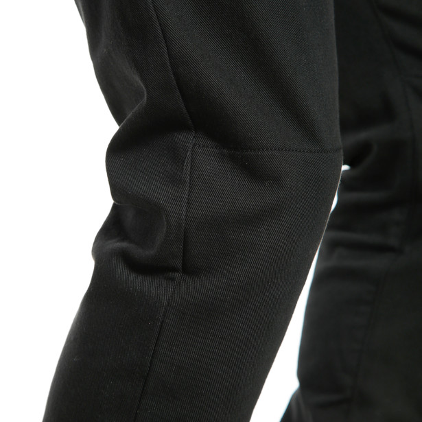 CLASSIC SLIM TEX PANTS BLACK- Pantalones