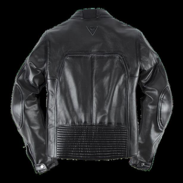TOGA72 PERF. LEATHER JACKET BLACK- Motorbike