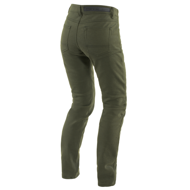 CLASSIC SLIM LADY TEX PANTS OLIVE- Women