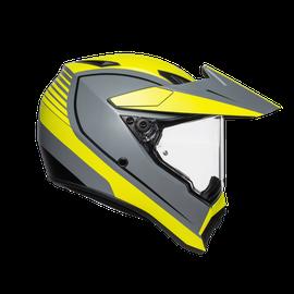 AX9 MULTI ECE DOT - PACIFIC ROAD MATT GREY/YELLOW FLUO/BLACK - AX9