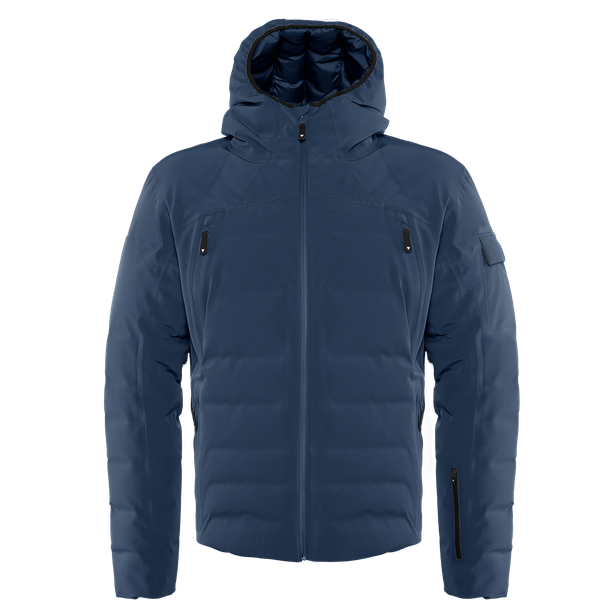 SKI DOWNJACKET SPORT BLACK-IRIS/BLACK-IRIS- Downjackets