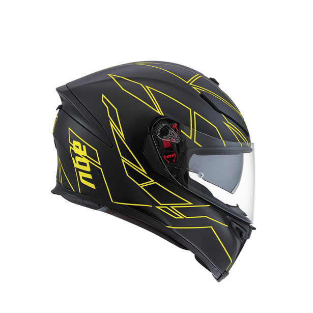 K-5 S E2205 MULTI - HERO BLACK/YELLOW FLUO - Full-face