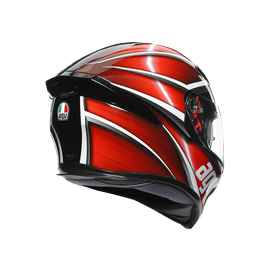 K5 S E2205 MULTI- TEMPEST BLACK/RED - K5 S