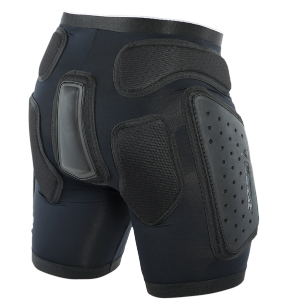 ACTION SHORTS EVO BLACK/WHITE- Ski safety