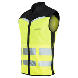 EXPLORER PACKABLE HIGH VIS VEST FLUO-YELLOW