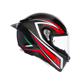 PISTA GP R MULTI ECE DOT - STACCATA CARBON/RED