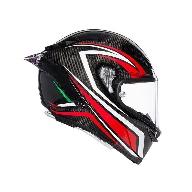 PISTA GP R MULTI ECE DOT - STACCATA CARBON/RED - Pista GP R